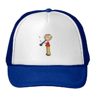 Figura gorra del palillo del Clarinet