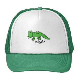 Figura gorra del palillo del cocodrilo