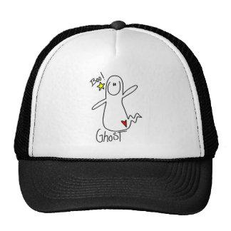 Figura gorra del palillo del fantasma de Halloween