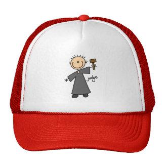 Figura gorra del palillo del juez