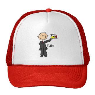 Figura gorra del palillo del mayordomo