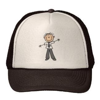 Figura gorra del palillo del papá