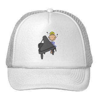 Figura gorra del palillo del piano