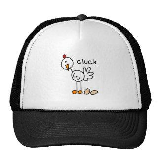 Figura gorra del palillo del pollo