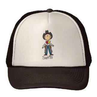 Figura gorra del palillo del sheriff