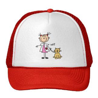 Figura gorra del palillo del veterinario
