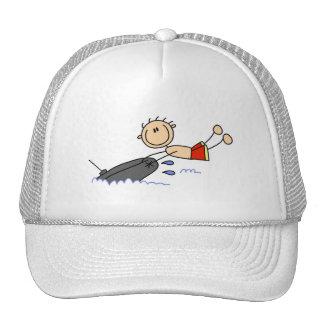 Figura gorras del palillo de la tubería