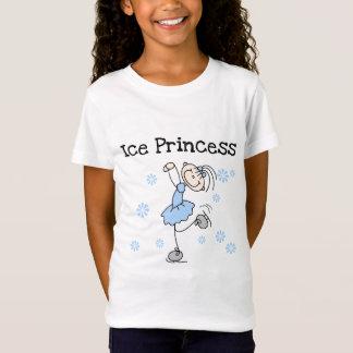 Figura princesa del palillo del hielo camiseta