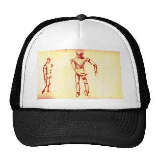 Figuras de la sepia gorras de camionero