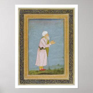 Figuras religiosas musulmanes, del pequeño Al de C Póster
