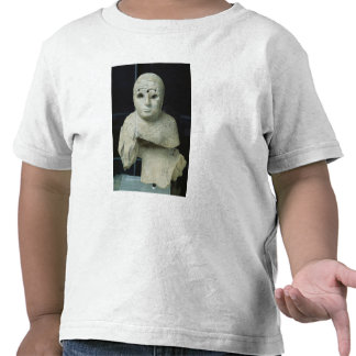 Figurilla de una mujer con el mantón, período de A Camisetas