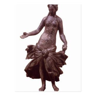 Figurilla de Venus, tarde 1r o del siglo II Postal