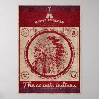 "fijar película ""indians "" póster"