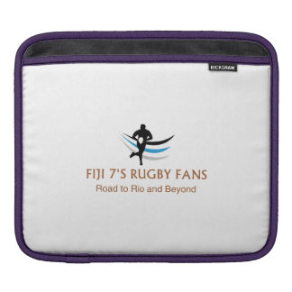 Fiji 7 fans del rugbi - manga protectora del iPad Funda Para iPad
