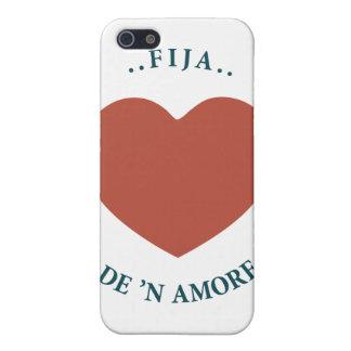 fijo de n amore iPhone 5 protector