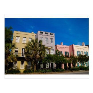 Fila Charleston, SC del arco iris Postal