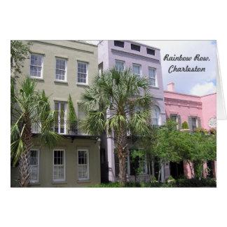 Fila del arco iris, Charleston Tarjetas