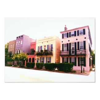 Fila histórica Charleston Carolina del Sur del Invitación 12,7 X 17,8 Cm