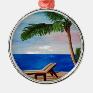 Filamento del Caribe con las sillas de playa Ornato