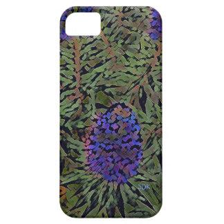 Filas de la planta púrpura Del Mar de la lavanda Funda Para iPhone SE/5/5s