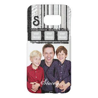 Filmstrip con las rayas de B&W Funda Samsung Galaxy S7