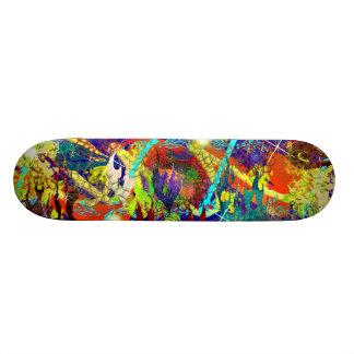 Filón en colores pastel tabla de skate