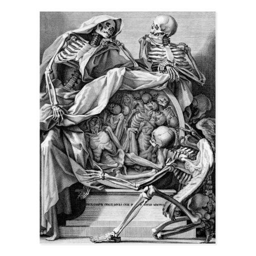 Filosofía de la postal de la mortalidad