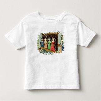 Filosofía y las musas camiseta de bebé