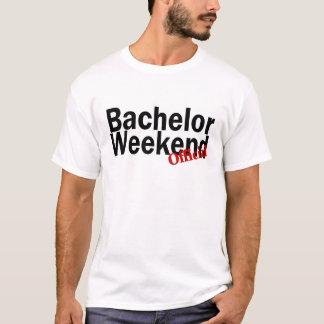 Fin de semana del soltero (funcionario) camiseta