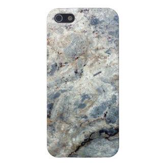 Final de piedra de mármol blanco de los azules iPhone 5 coberturas