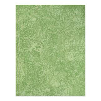 Final verde de Marmorino falso Postal