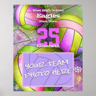 Finales de las mujeres de la foto del equipo del póster