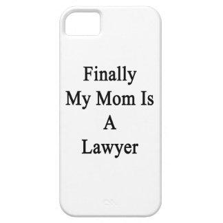 Finalmente mi mamá es abogado iPhone 5 cobertura