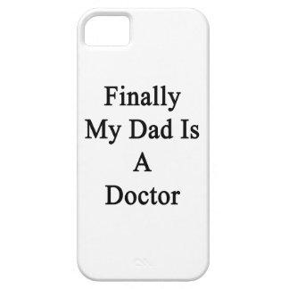 Finalmente mi papá es doctor iPhone 5 cárcasa