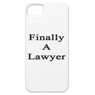 Finalmente un abogado iPhone 5 Case-Mate cárcasa