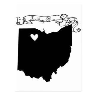 Findlay Ohio Tarjetas Postales
