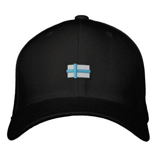 Finlandia (Cap_ negro Gorra De Beisbol