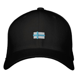 Finlandia Cap_ negro Gorra De Beisbol