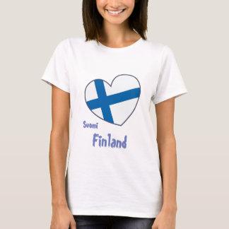 Finlandia Suomi shirt women Camiseta