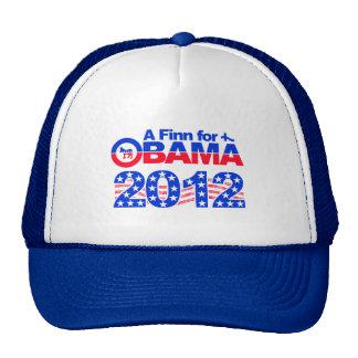 FINN PARA el gorra 2012 de OBAMA