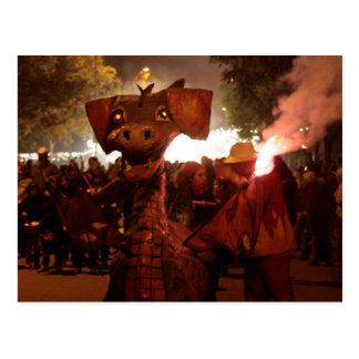 Fire Dragon - Catalan Monster Postal