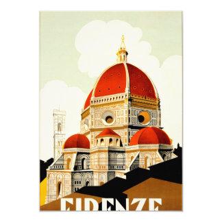 Firenze Invitación 12,7 X 17,8 Cm
