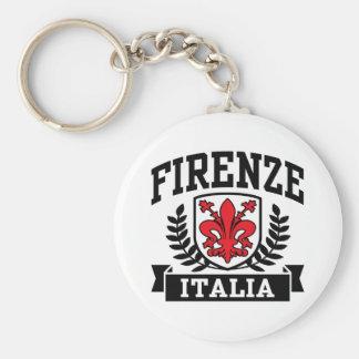 Firenze Italia Llavero Redondo Tipo Chapa