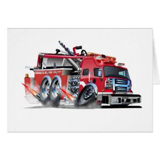 firetruck 000 tarjeta pequeña