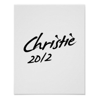 FIRMA 2012 DE CHRISTIE IMPRESIONES
