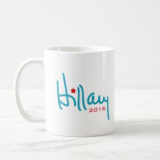Firma de Hillary Clinton Taza De Café