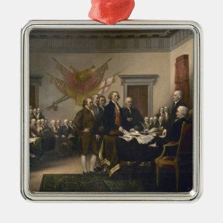 Firma de la Declaración de Independencia, el 4 de  Adornos De Navidad