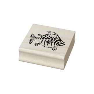 Fish-Fun-_Rubber Stamp_2 por 2_ Sello De Caucho