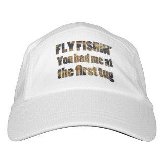 Fishin de la mosca usted me tenía en la primera gorra de alto rendimiento