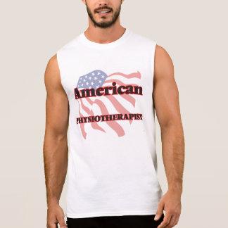 Fisioterapeuta americano camisetas sin mangas